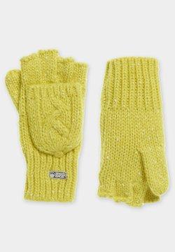 Superdry - Kynsikkäät - vivid yellow