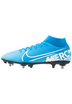 Nike Performance - MERCURIAL 7 ACADEMY SG-PRO AC - Fußballschuh Stollen - blue hero/white/obsidian