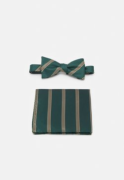 Selected Homme - SLHSULLY TIE BOWTIE BOX SET - Fliege - dark green