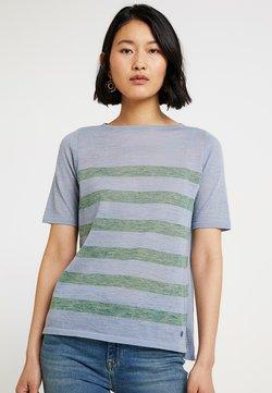 MAERZ Muenchen - RUNDHALS - T-Shirt print - clear blue