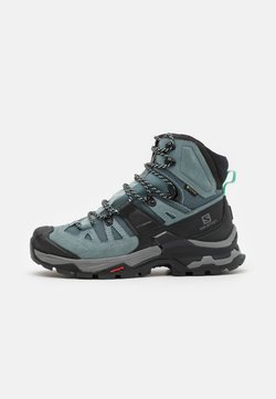 Salomon - QUEST 4 GTX - Hiking shoes - slate/trooper/opal blue
