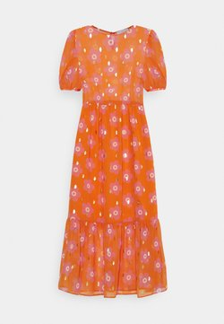 Never Fully Dressed Petite - SIENNA FLORAL DRESSES - Maxikleid - orange