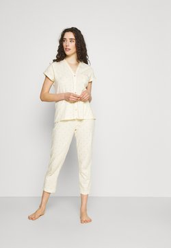 Women Secret - TIGER - Pyjama - pale yellow