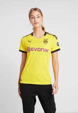 Puma - BVB BORUSSIA DORTMUND HOME REPLICA WITH EVONIK LOGO  - Vereinsmannschaften - cyber yellow/black