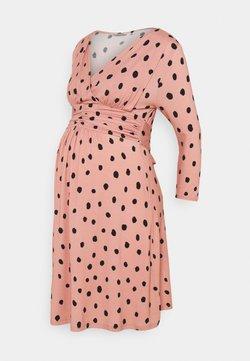 LOVE2WAIT - DRESS NURSING - Vestido ligero - dusty rose