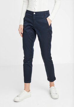 Vila - VICHINO RWRE 7/8 NEW PANT-NOOS - Chinot - total eclipse