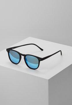 Urban Classics - SUNGLASSES ARTHUR WITH CHAIN - Zonnebril - black/blue