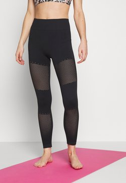 L'urv - WELLNESS WARRIOR SEAMLESS LEGGING - Medias - black