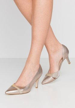 Anna Field Wide Fit - LEATHER CLASSIC HEELS - Pumps - gold