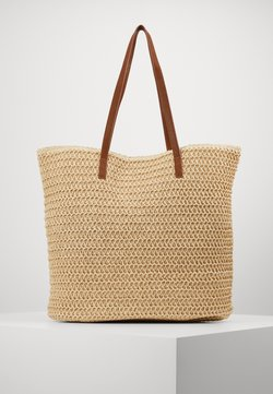 Vero Moda - VMSISSO BEACH BAG - Shopping bag - creme brûlée