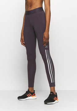 adidas Performance - GLAM - Legginsy - purple