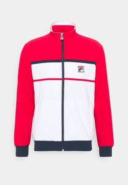 Fila - JACKET MAX - Trainingsjacke - white/red