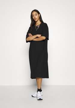 Weekday - INES DRESS - Jerseyjurk - black
