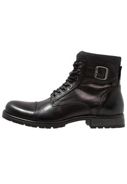 Jack & Jones - JFWALBANY - Bottines à lacets - anthracite