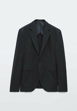 Massimo Dutti - Sakko - blue/black denim