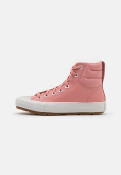 Converse - CHUCK TAYLOR ALL STAR BERKSHIRE BOOT - Sneakers high - rust pink/pale putty