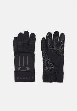 Oakley - ELLIPSE FOUNDATION GLOVES - Fingerhandschuh - blackout