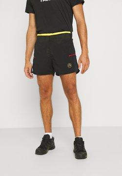 La Sportiva - FRECCIA SHORT - Pantalón corto de deporte - black/yellow