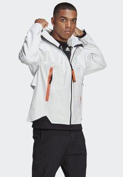 adidas Performance - MYSHELTER URBAN RAIN.RDY OUTDOOR - Regenjas - white