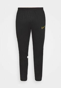 Nike Performance - ACADEMY 21 PANT - Träningsbyxor - black/white/saturn gold