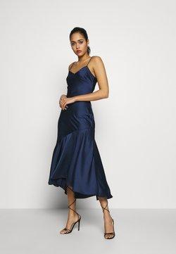 New Look - TRUMPET HEM MIDI DRESS - Cocktailkleid/festliches Kleid - navy