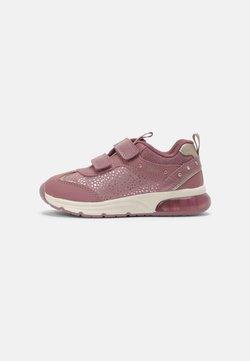 Geox - SPACECLUB GIRL - Sneaker low - dark pink