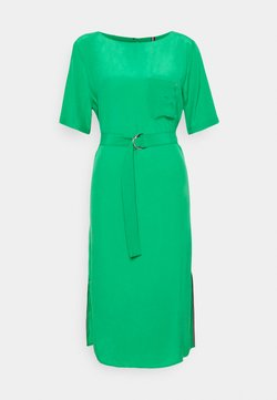 Tommy Hilfiger - CUPRO KNEE DRESS - Sukienka letnia - primary green