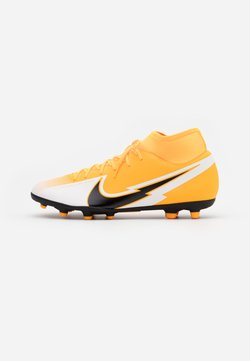 Nike Performance - MERCURIAL 7 CLUB FG/MG - Fußballschuh Nocken - laser orange/black/white
