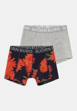 Björn Borg - OVERIZIED FLOWER SAMMY 2 PACK - Panties - night sky
