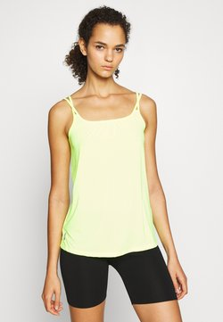 ONLY PLAY Tall - ONPAZZIE TRAINING TALL - Top - safety yellow