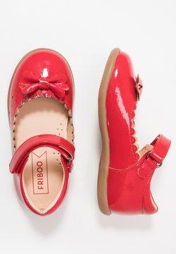 Friboo - Ballerina's met enkelbandjes - red