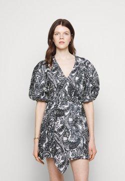 Faithfull the brand - GODIVA WRAP DRESS - Freizeitkleid - black