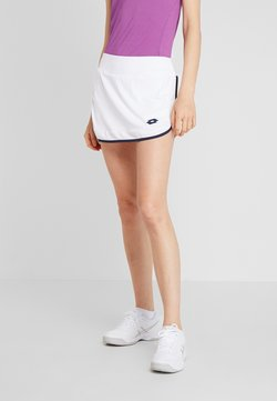 Lotto - SQUADRA SKIRT - Sportkjol - brilliant white