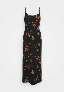 Even&Odd - Maxi-jurk - black/multicolor