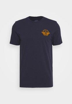 DOCKERS - LOGO TEE - T-shirt con stampa - pembroke/dark ginger