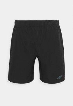 4F - HERREN FULGENZIO - Pantalón corto de deporte - black