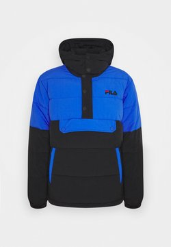 Fila - BATUL BLOCKED PUFFER  - Winterjacke - black dazzling blue
