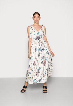 Selected Femme - GARDEN  ANKLE GOWN DRESS - Freizeitkleid - sandshell