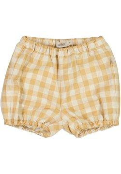Wheat - OLLY - Shorts - taffy check