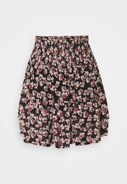Second Female - FLEURIR SKIRT - Minirock - black