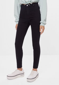 Bershka - Jeggings - black