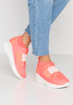 UGG - NEUTRA - Loaferit/pistokkaat - neon coral