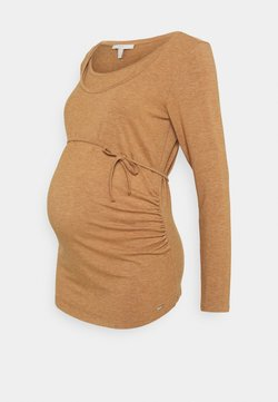 Esprit Maternity - NURSING - T-shirt à manches longues - acorn beige