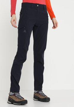 Salomon - WAYFARER TAPERED PANT - Friluftsbyxor - night sky