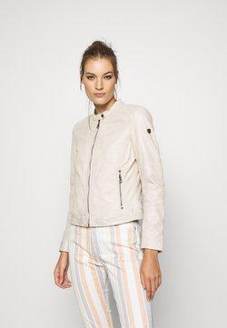 Gipsy - GGNIDEL LAMAS - Leren jas - off white