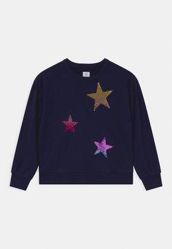 GAP - GIRLS FLIPPY BOXY - Sweatshirt - navy uniform