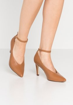 Anna Field - LEATHER PUMPS - Pumps - cognac