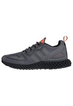 adidas Originals - ZX 4D - Sneaker low - grey four core black solar orange