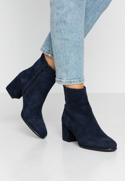 Anna Field - LEATHER BOOTIES - Stiefelette - dark blue