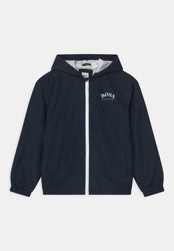 BOSS Kidswear - Regnjacka - navy